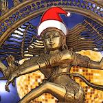 Tanzende Shiva - mit Mütze