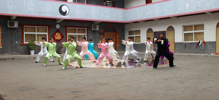 taijiuan- Gruppenunterricht