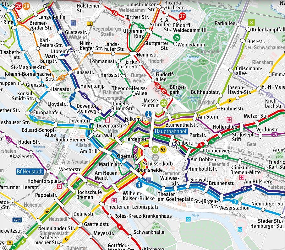 stadtplan bsag