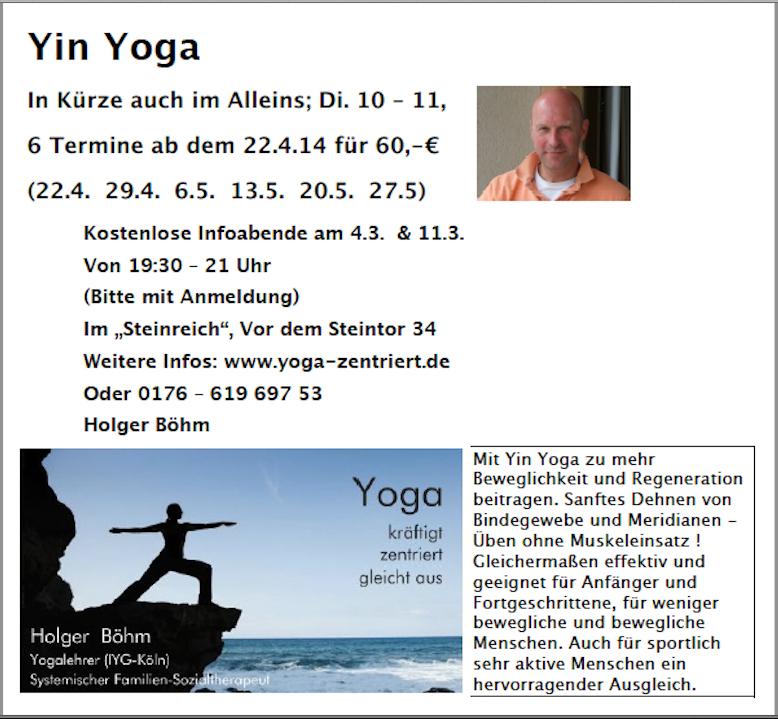 yin yoga kurz 2